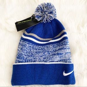 ✔️ NIKE Beanie Hat Cozy Winter Hat Removable Pom